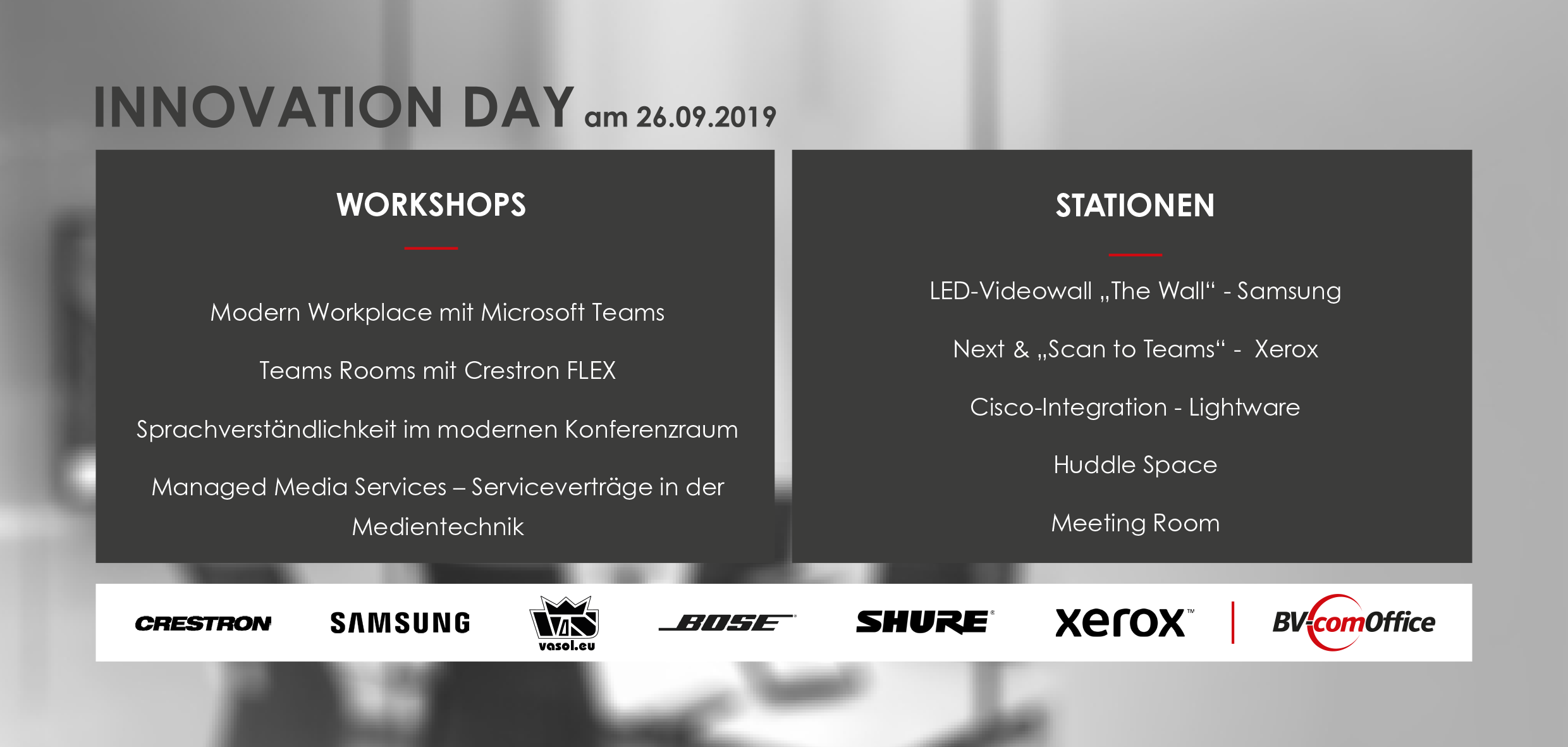 Innovation Day Agenda
